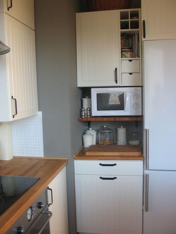 Countertop Microwave Rack : ... microwave microwave shelf countertop material kitchen trends forward