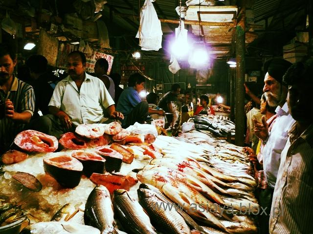 Delhi, targ rybny 6