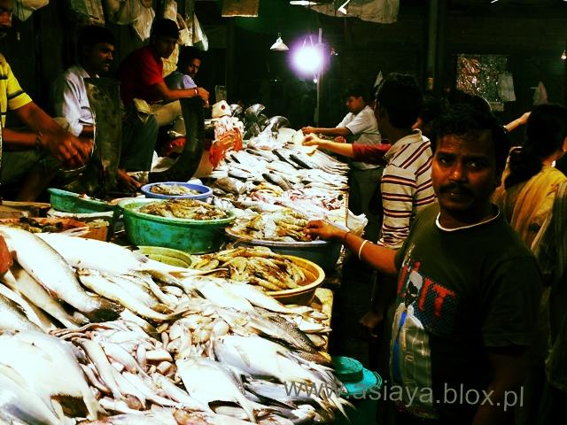 Delhi, targ rybny 5