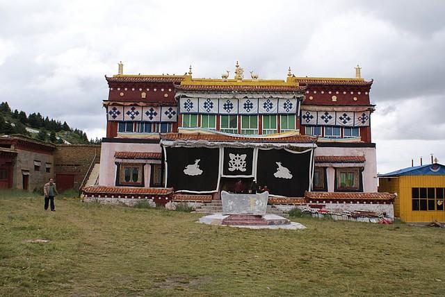Mnisi buddyjscy okolice Litang