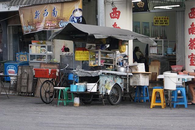 Uliczne jedzenie - Penang