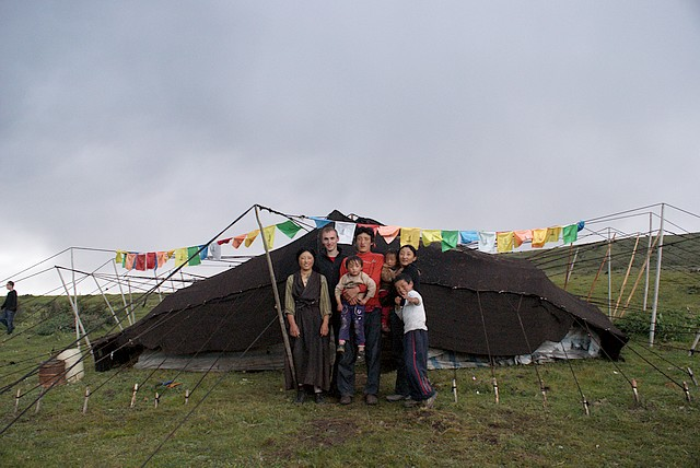 Tagong - dzień z nomadami