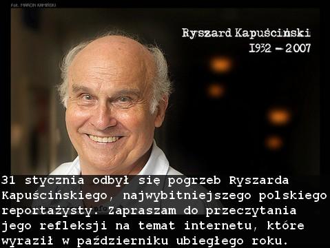 Kapuścinski Ryszard