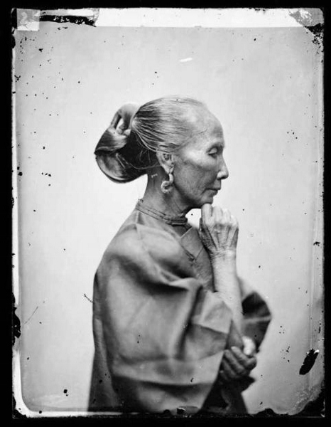 An old Cantonese woman Guangzhou 1868-70, fot. John Thomson