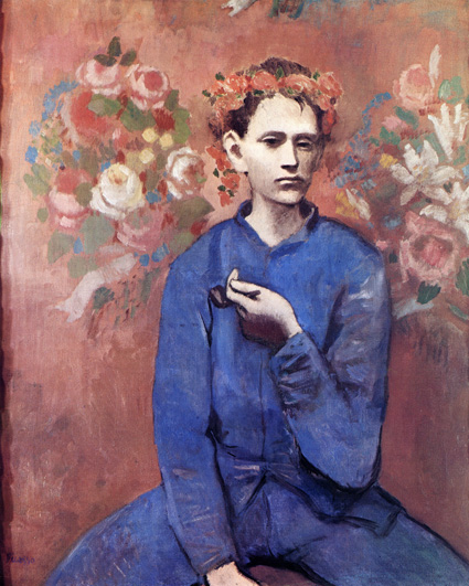 Picasso - Boy with a pipe