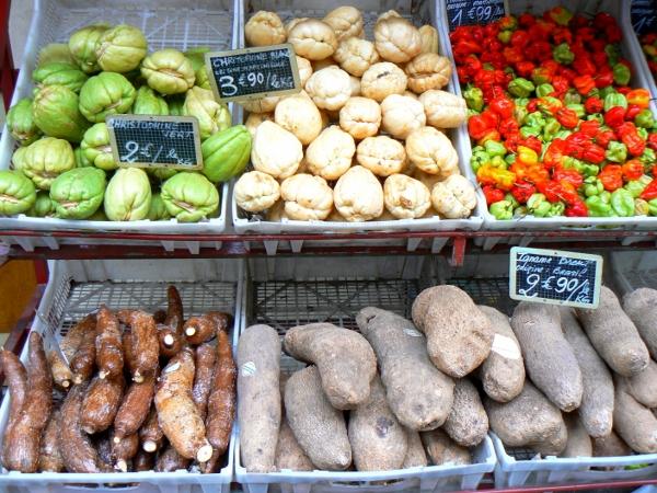 warzywa we Francji