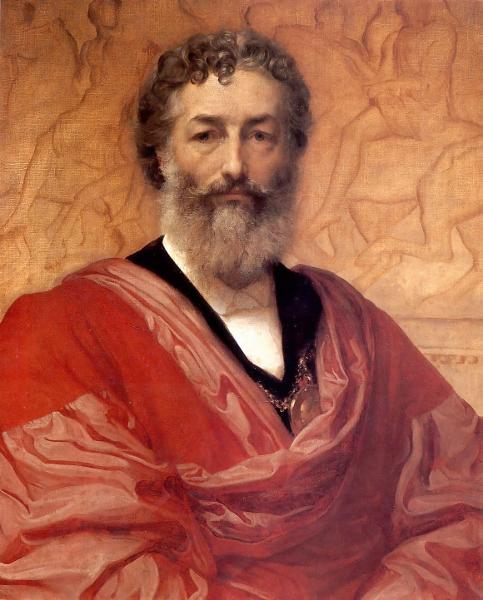 autoportret Frederica Leighton z 1880