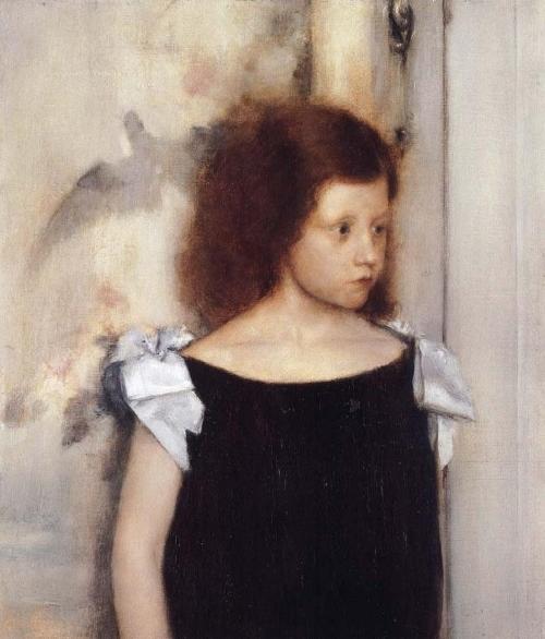 Fernand Khnopff - Portait of Gabrielle Braun