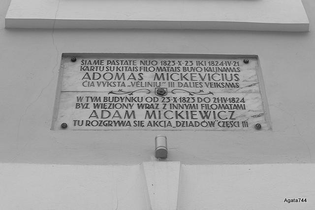 Mickiewicz, Wilno