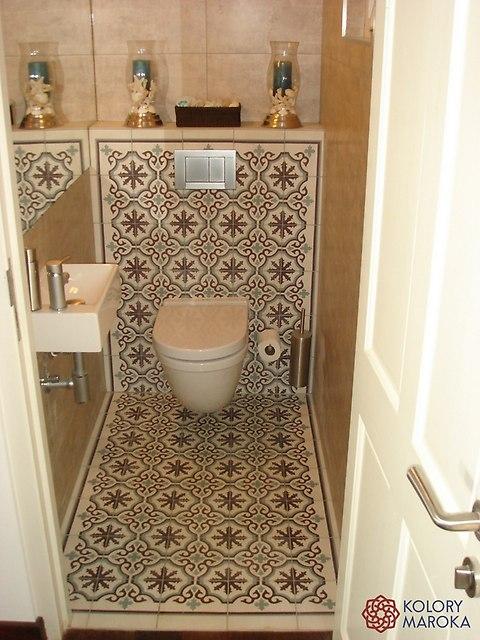 p�ytki cementowe aranżacje �azienkowe i toalet zdjęcia