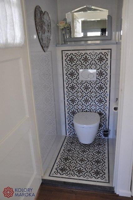 Płytki Cementowe Aranżacje łazienkowe I Toalet Zdjęcia