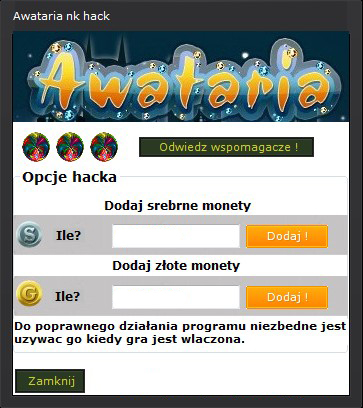 Hack do Awatarii