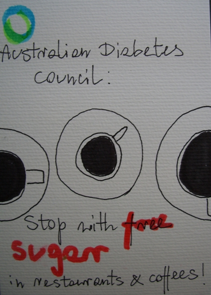 Aussie Diabetes Council campaign
