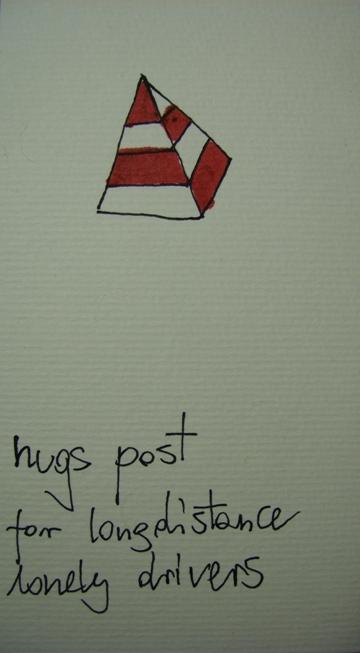 hugs post