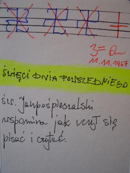 SWIECI DNIA SWIATECZNEGO sw.Janpospieszalski