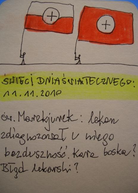 SWIECI DNIA SWIATECZNEGO; sw.Marekjurek