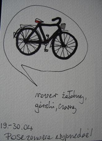 Rower zalobny,gorski,czarny