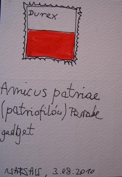 AMICIS PATRIAE PARADE GADGET