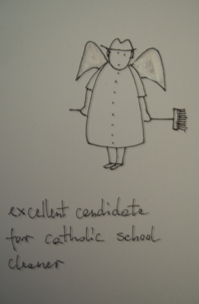 Catholic school cleaner of our dreams