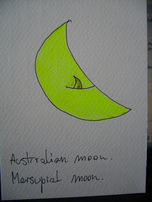 Marsupial moon
