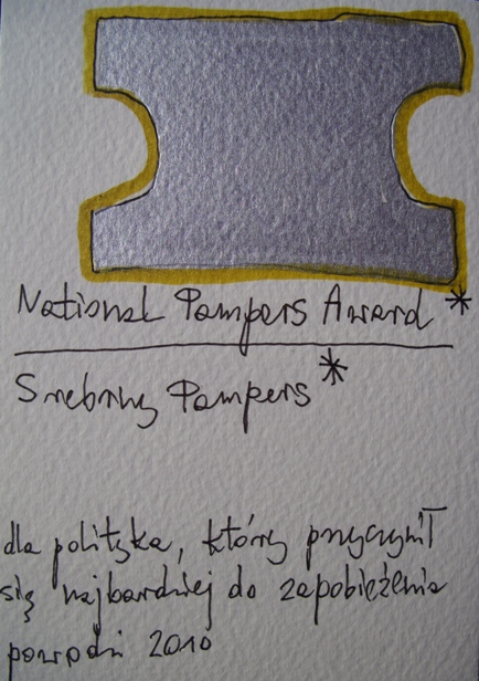 National Pampers Award