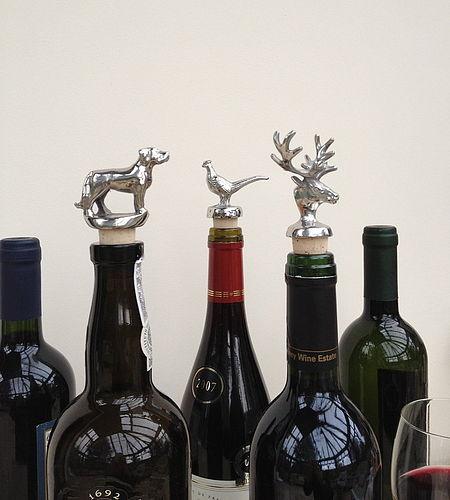 zabawne korki do butelek na święta