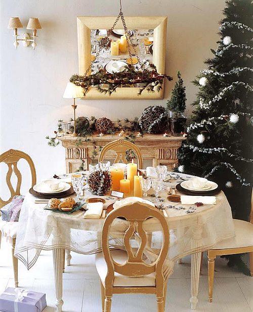 świąteczny stół na wigilie