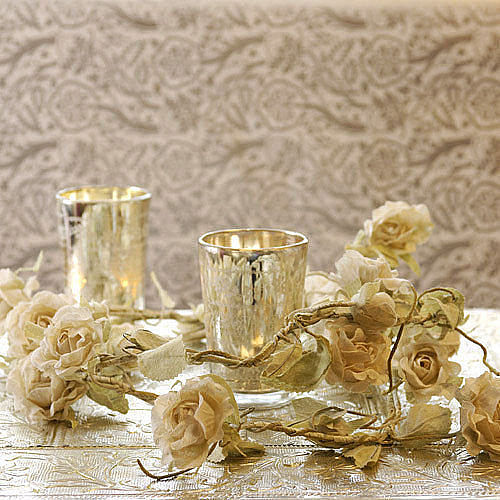 lustrzany świecznik