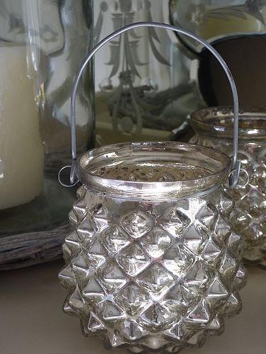 lampion posrebrzany