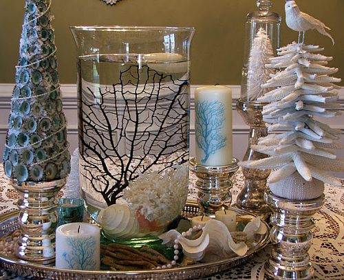 shabby chic christmas choinka