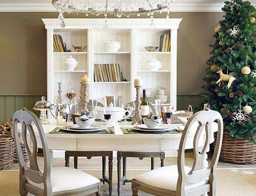 świąteczny stół jak ozdobić