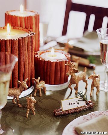 drobiazgi na stół świąteczny