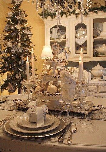 jak ozdobić stół na święta