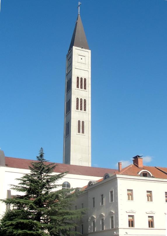 Bośnia i Hercegowina, Mostar - kościół franciszkański św. Piotra i Pawła