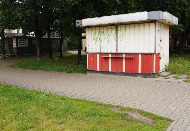 kiosk na Bielanach