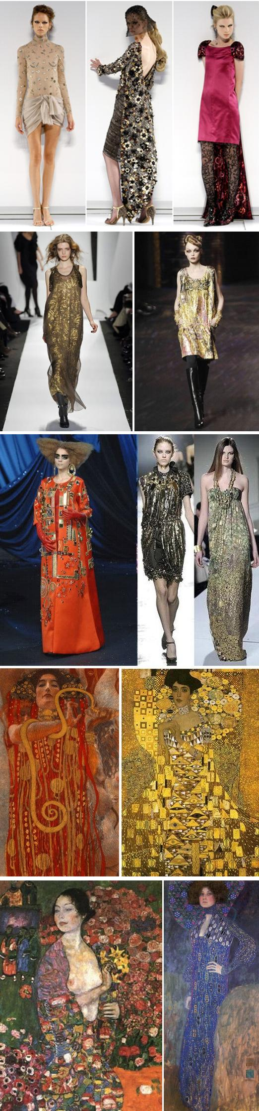 klimt fashion