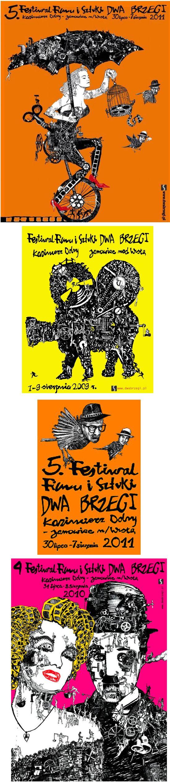 dwa brzegi plakaty