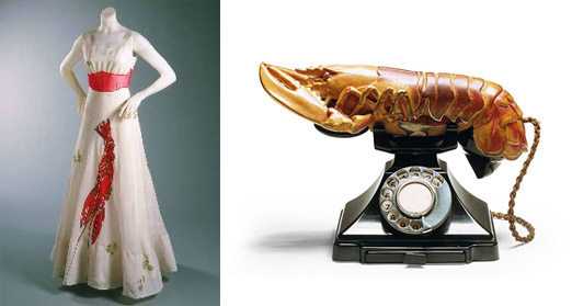 dali lobster dress