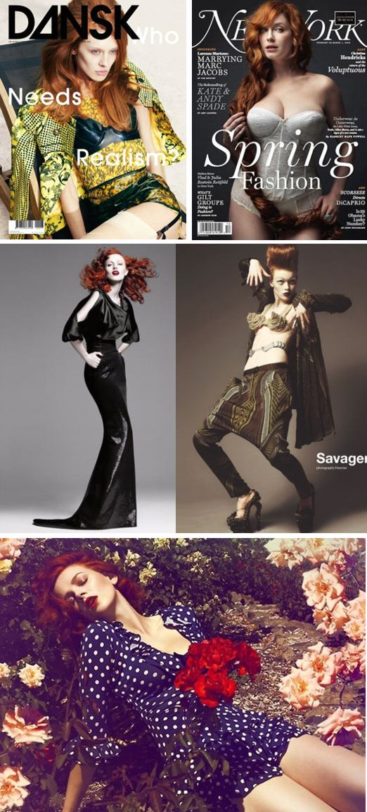 red hair magazines