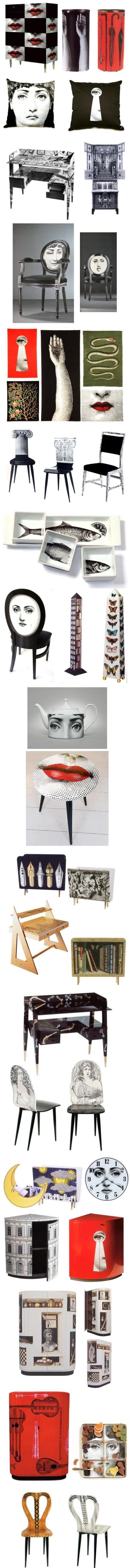 fornasetti furnitures