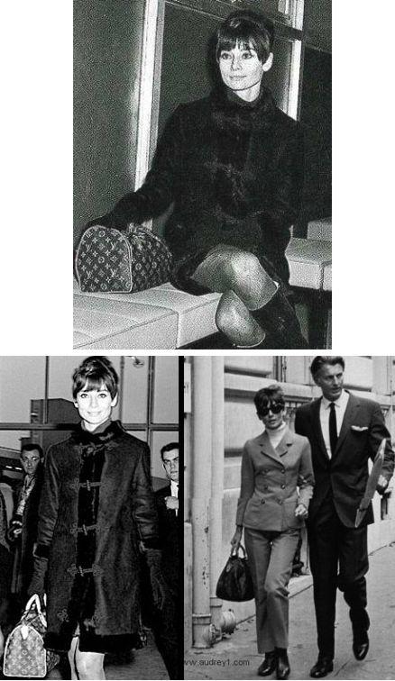 Audrey Hepburn louis vitton