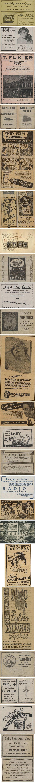 przedwojenne reklamy