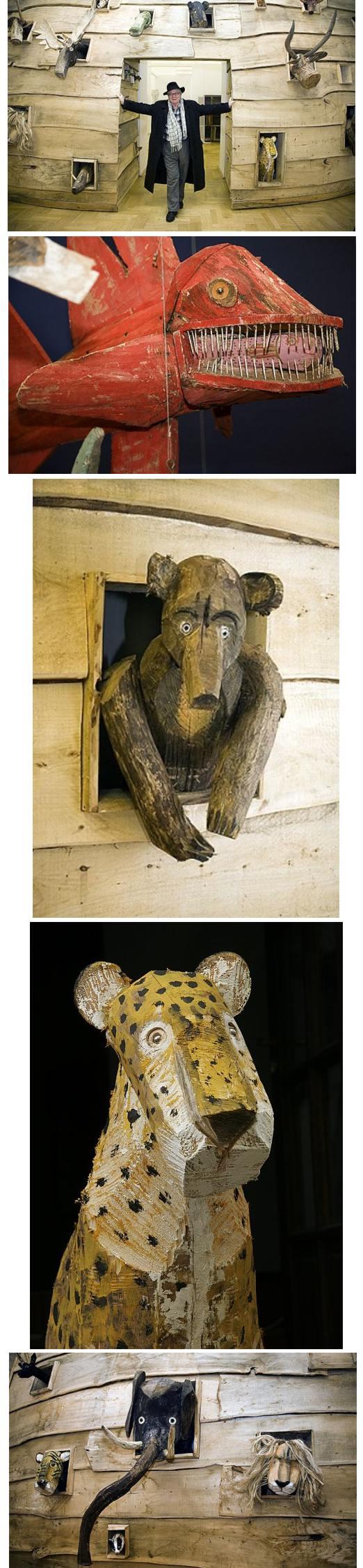 wilkoń rzeźby