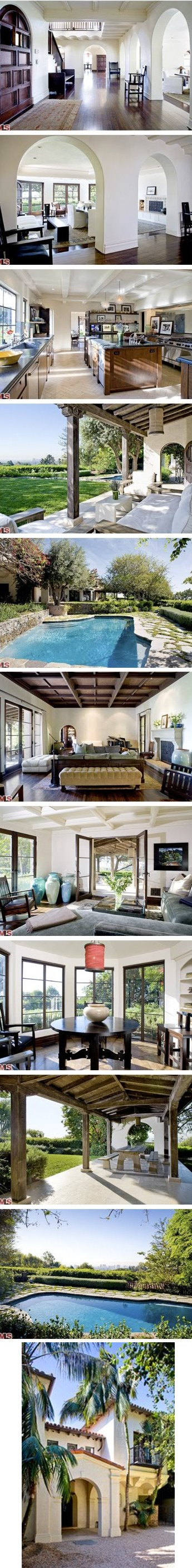 meg ryan bel air house