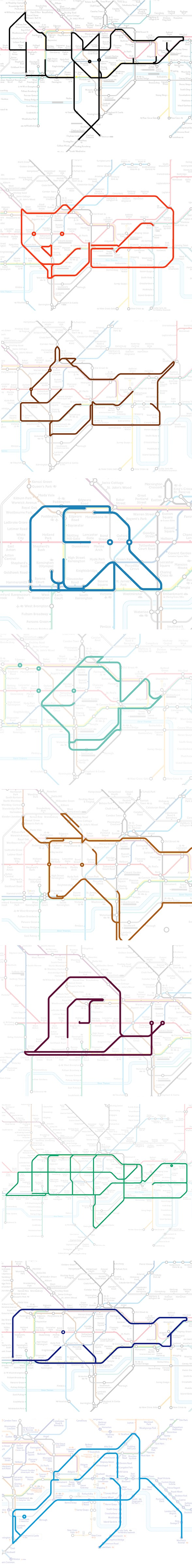 map animal