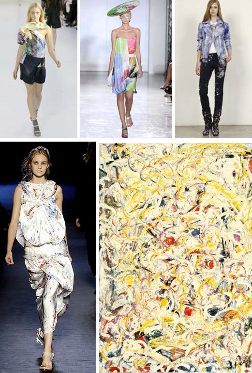 pollock fashion