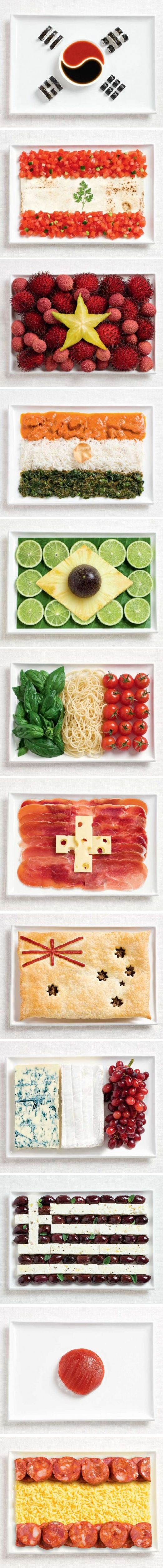 flag food ad