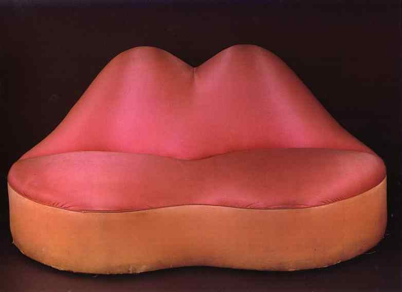 dali lips oryginal sofa