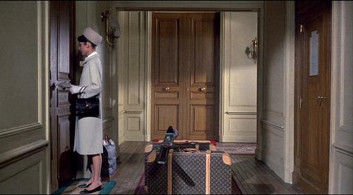 Audrey Hepburn charade louis vitton