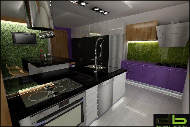 Projekt kuchni i jadalni